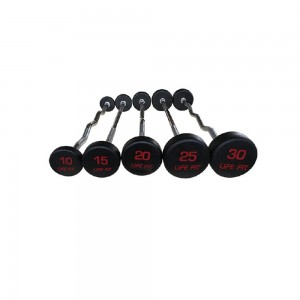 Rubber Coated Barbell